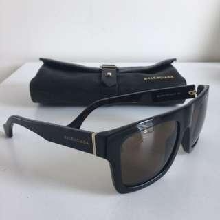 GENUINE BALENCIAGA Women's sunglasses dark brown