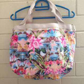 LeSportSac Beach Floral Bag