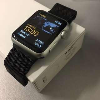 Apple Watch Series 1 42mm Silver Garansi