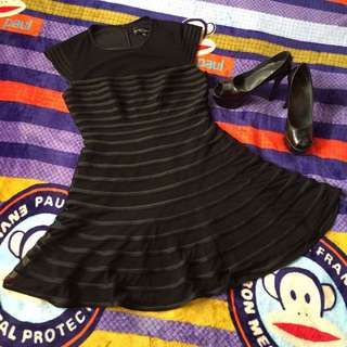 Black Night Out Party Dress