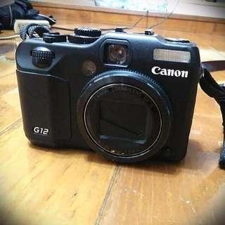 Canon G12 全配件 附腳架 含運費