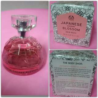 edt body shop japanese cherry blossom