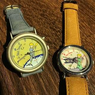 🤴🏻小王子 🌹夜光功能 💡手錶