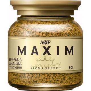 日本AGF MAXIM咖啡 箴言即溶咖啡