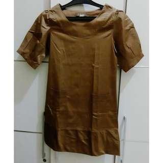 Brown, Soft Metallic, Uk S - M