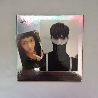 EXO EXODUS Album With Lay Photocard