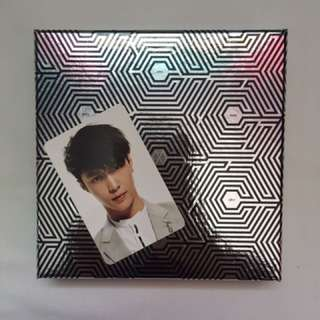 EXO Overdose Album With Lay Photocard