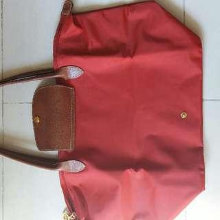 Longchamp 大Size 手袋