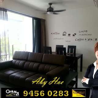 *Condo for Sale* 2 bedded @ Hedges Park (83 Flora Drive)