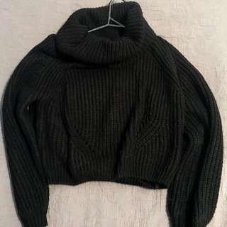 Woollen black jumper