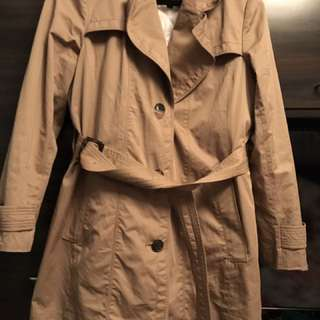 Banana Republic trench coat. Size large