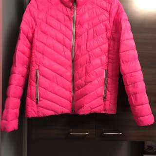 Gap down jacket. Pink.