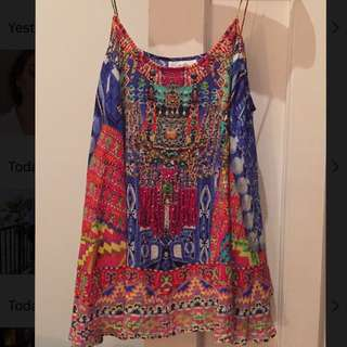 Camilla Shoestring Top Size 1/small