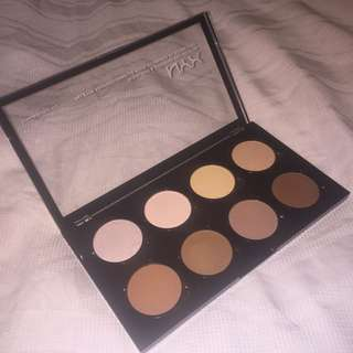 NYX Highlight and contouring pro pallet