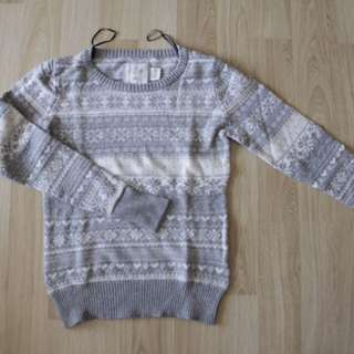 H&M christmas edition sweater (L)