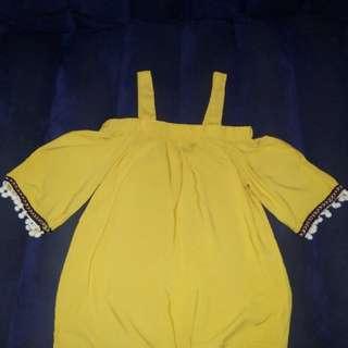 Off Shoulder (mustard)