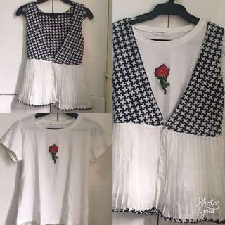 Top and vest set! Sale