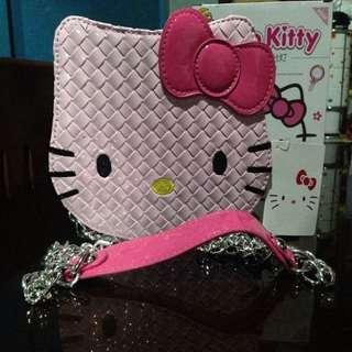 Hello Kitty Hand and Sling Bag
