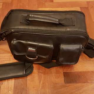 Nikon Leather Bag
