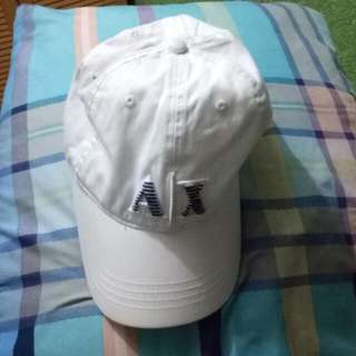 Authentic Armani Exchange Cap (white)