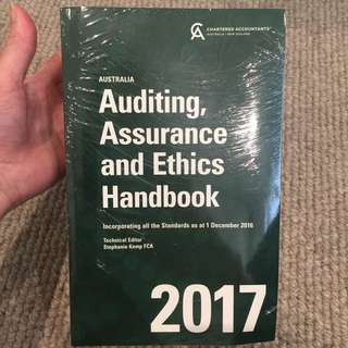 Auditing , Assurance and Ethics Handbook 2017 : Stephanie Kemp