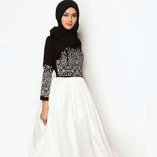 Zalia For Rent Embroidered Maxi Dress Princess