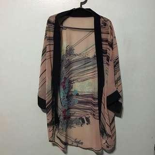 Japanese-inspired Kimono