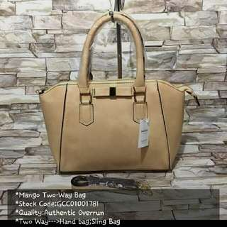 Mango Authentic Overrun bag