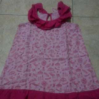 Summer Surfer Girl Dress (pink)