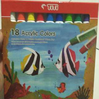 CAT ACRYLIC TITI 18 COLORS (@12cc)