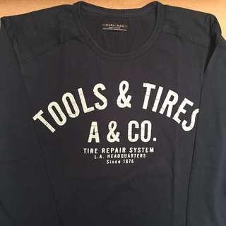 Zara Printed Longsleeve T-shirt