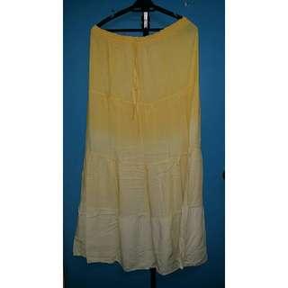 Acid Wash Long Skirt/Dress