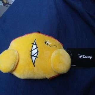 東京迪士尼pooh 錢包卡套