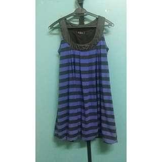 Striped Bubble Dress