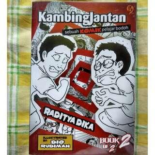 Komik Kambingjantan 2 by Raditya Dika & Dio Rudiman
