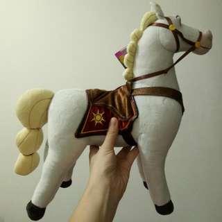 🚚 迪士尼  長髮公主 白馬玩偶