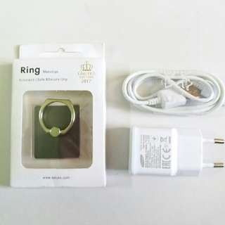 Samsung Charger & I-ring