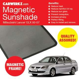 Quality Mitsubishi Lancer GLX 00-07 Magnetic Sunshades 4 Pcs