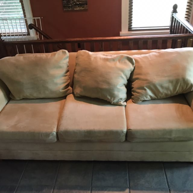 3-seat Beige Couch