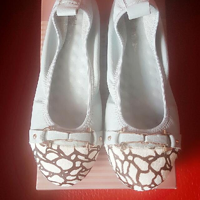 馬毛小羊皮娃娃鞋