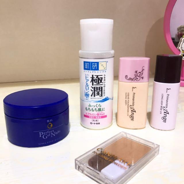 日系保養品、化妝品
