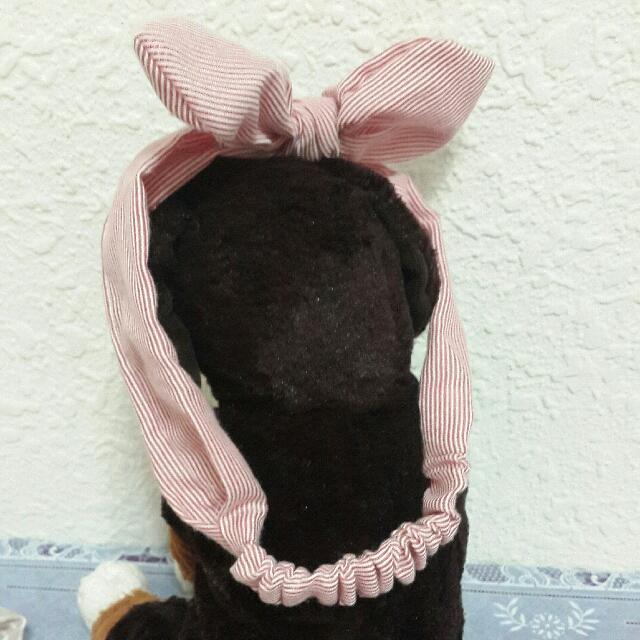 可愛造型鬆緊髮帶