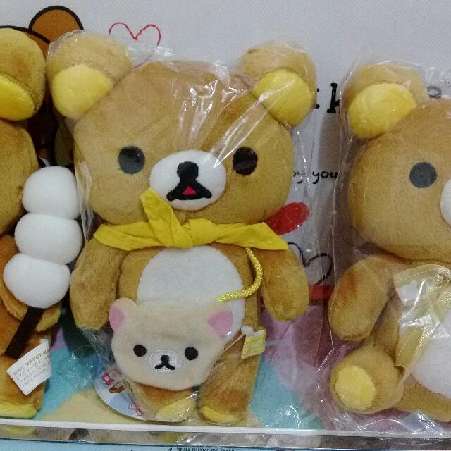 景品 糰子 背包包 戴帽子 Rilakkuma 拉拉熊 懶懶熊 輕鬆熊 鬆弛熊 啦啦熊