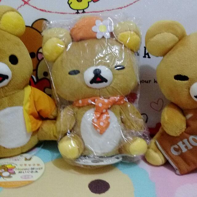 景品 幸運草 戴帽子 抱巧克力 Rilakkuma 拉拉熊 懶懶熊 輕鬆熊 鬆弛熊 啦啦熊