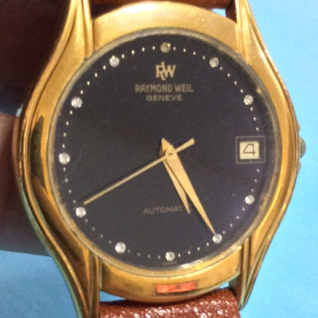 🔴 AUTHENTIC Raymond Weil Luxury Wrist WATCH