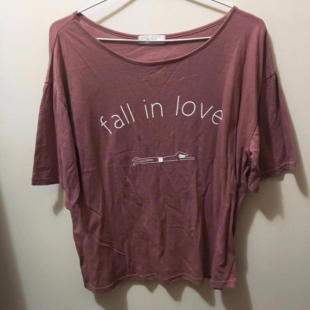 韓國 room4 fall in love 上衣