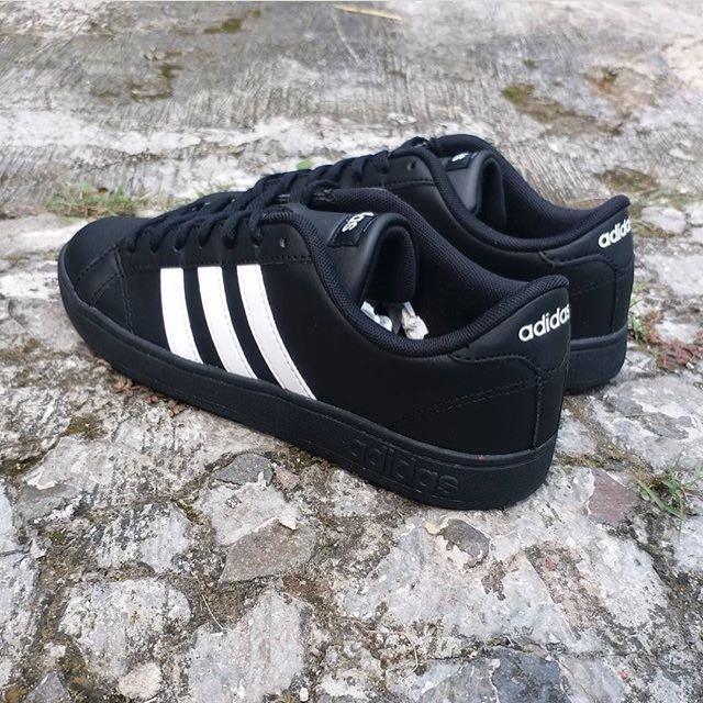 Adidas Neo Baseline Original Black White Black