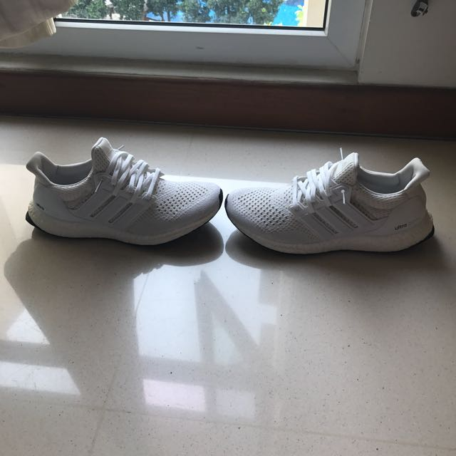 Adidas Ultra US8.5, Boost Triple Blanco 1.0 US8.5, Ultra Hombre Fashion, Foot a331a1