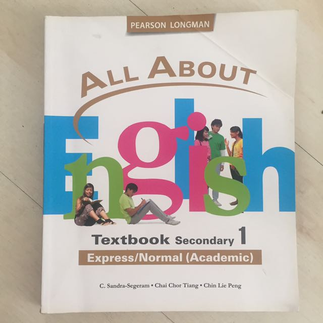 All about English textbook Sec1