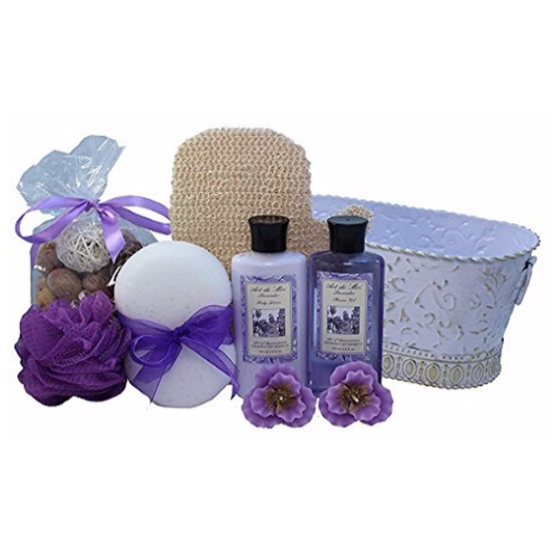 Art Of Appreciation Gift Baskets Lavender Renewal Spa Bath And Body Gift Health Beauty Bath Body On Carousell